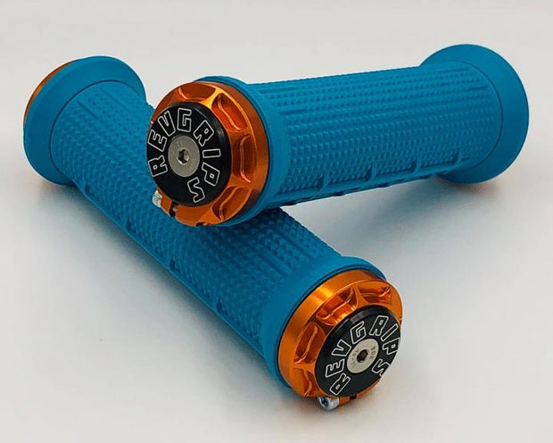 Revgrips Yeti Turquoise and Orange
