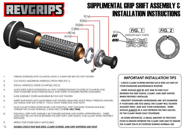 Revgrips Grip Shift PDF