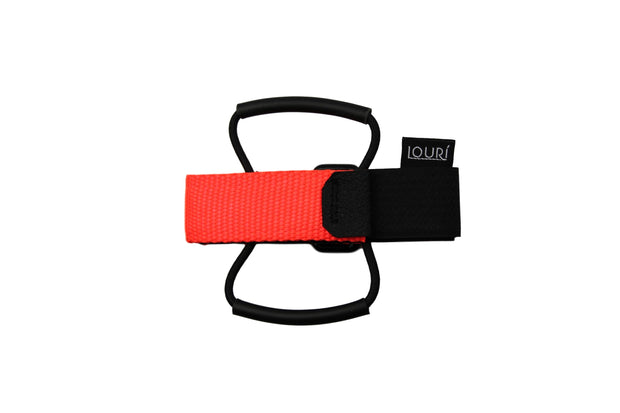 Neon Orange Louri Saddle Strap