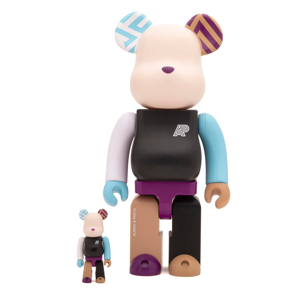 A&P + BE@RBRICK 100% / 400% FIGURE SET