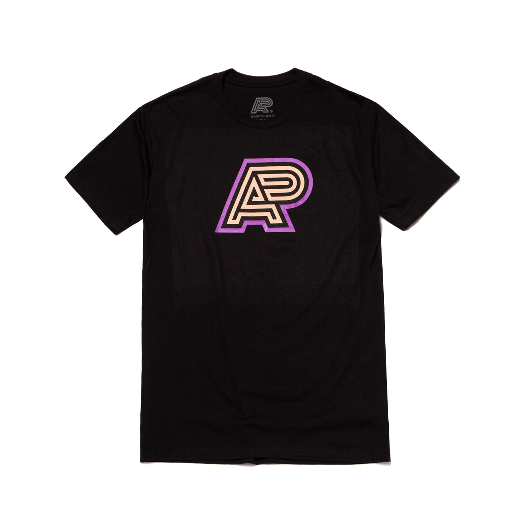 A&P PBJ MARK TEE BLACK