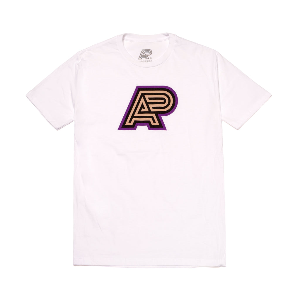 A&P PBJ MARK TEE WHITE