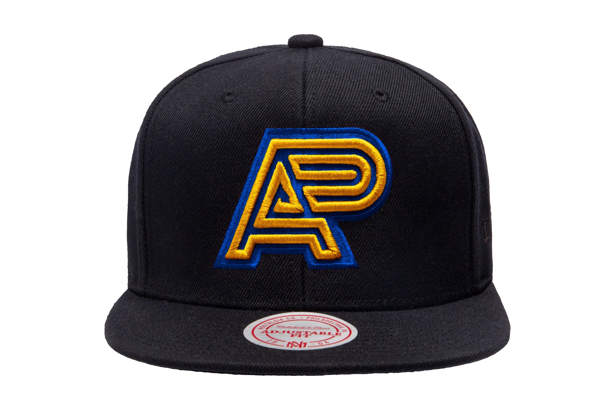 Q1 19 A&P X MITCHELL & NESS SNAPBACK (BLUE/YELLOW) (FULFILLMENT)