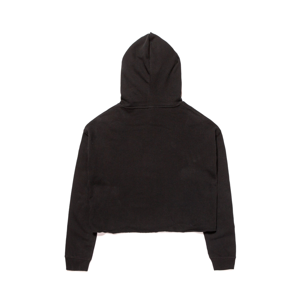 A&P WOMENS CROP DROP HOODY