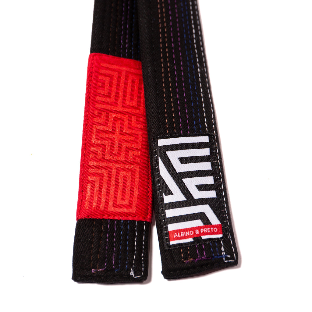A&P JWSF HERRINGBONE BLACK BELT (FULFILLMENT)