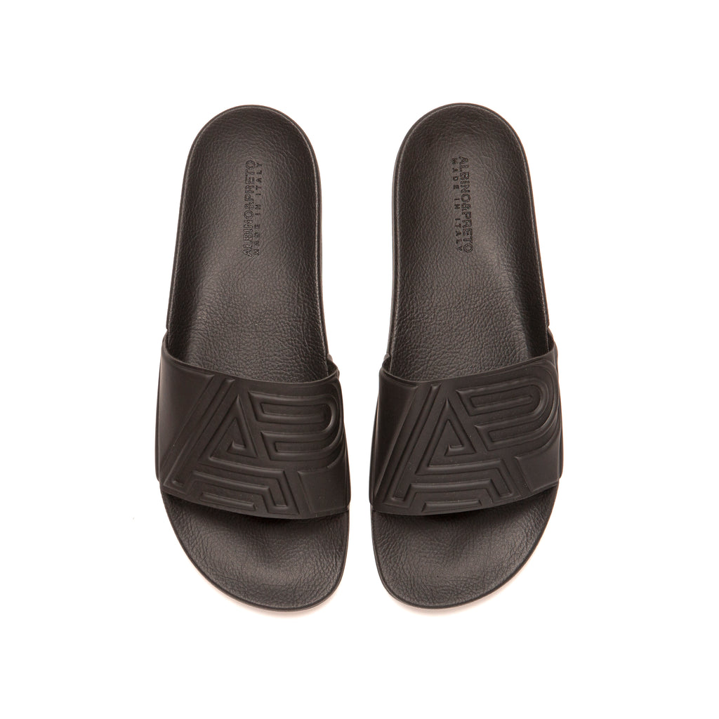 A&P Slides Made in Italy (Black)