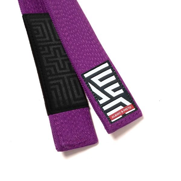 A&P CLASSIC HERRINGBONE BELT (PURPLE)
