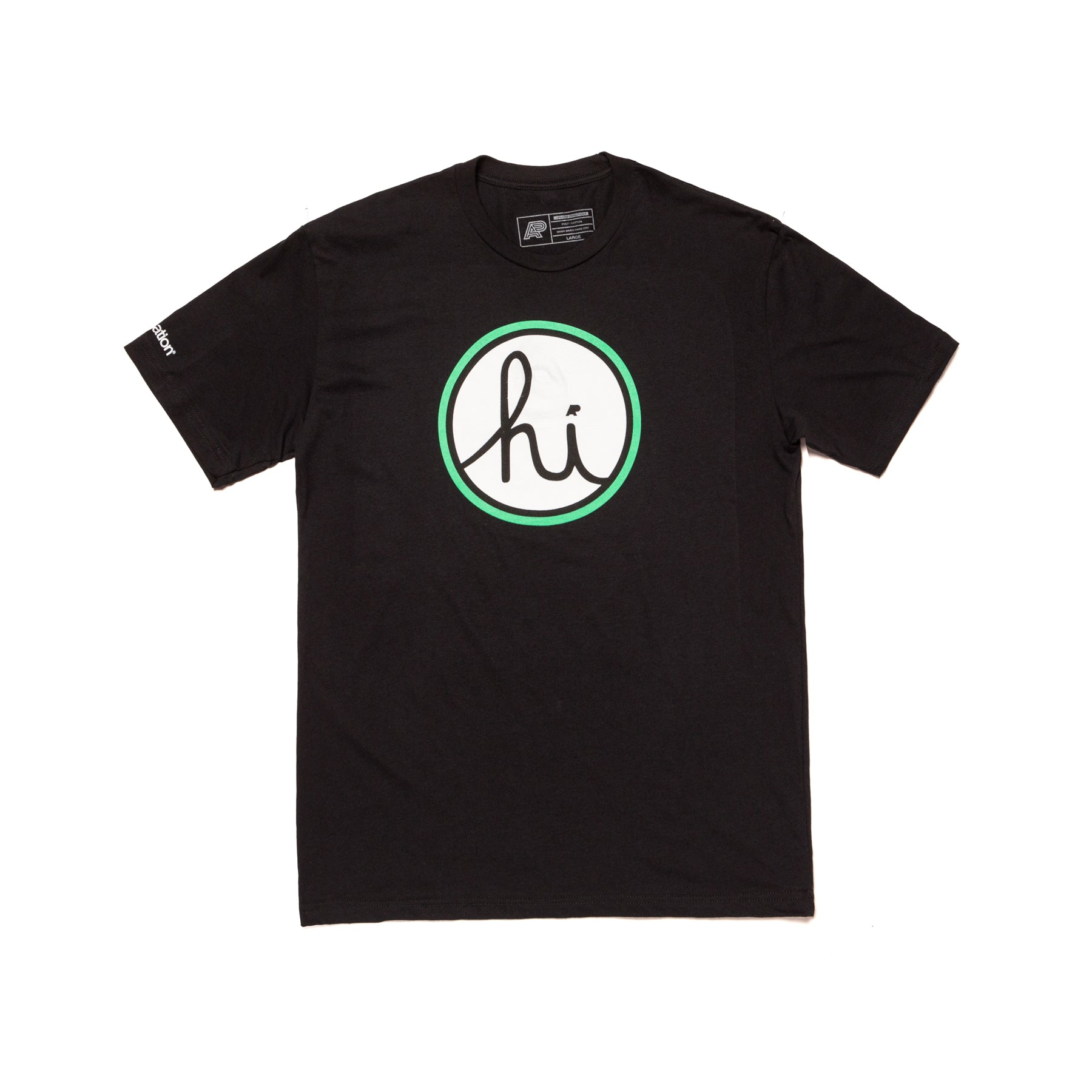 A&P HI LOGO TEE (BLACK) (FULFILLMENT)