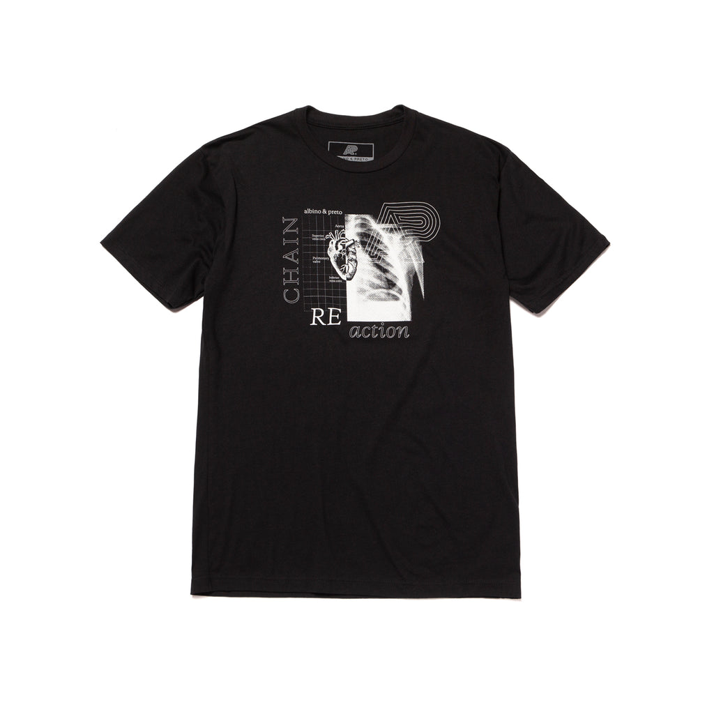 A&P REACTION TEE BLACK