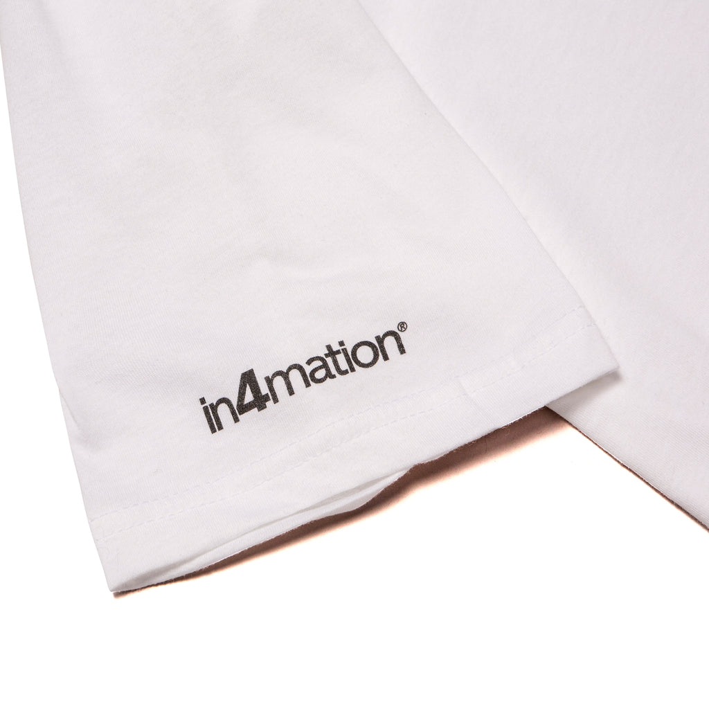 A&P IN4MATION MARK TEE (WHITE)
