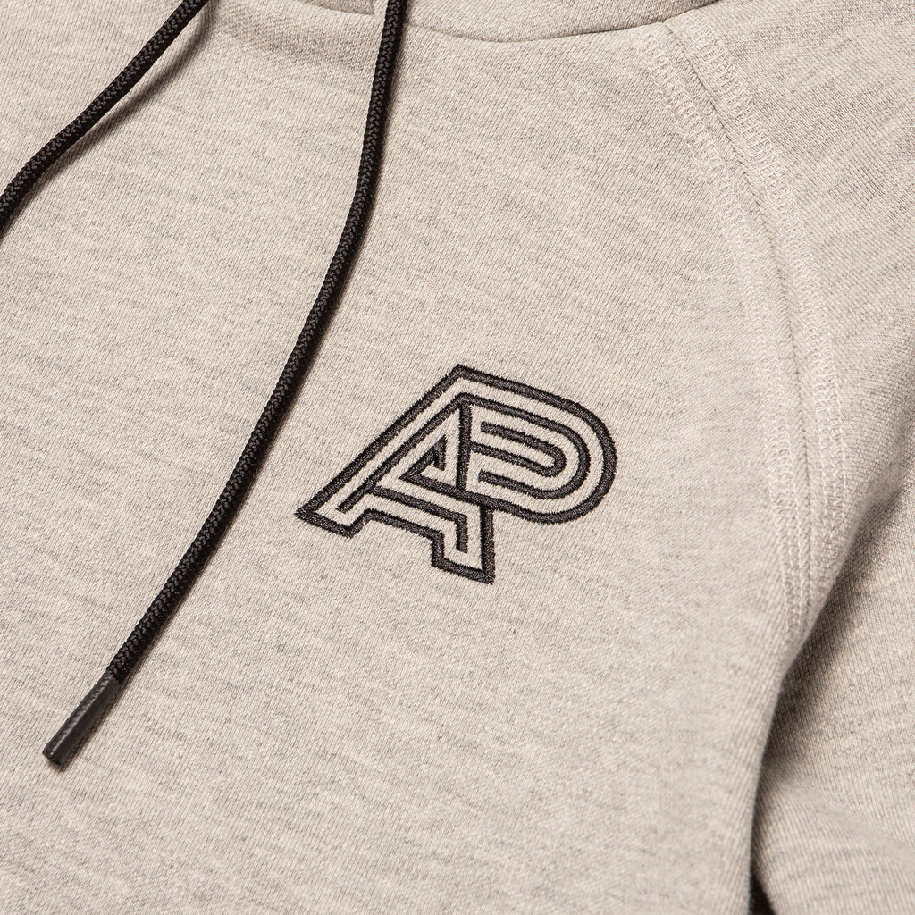 CLASSIC RAGLAN HOODY (HEATHER)