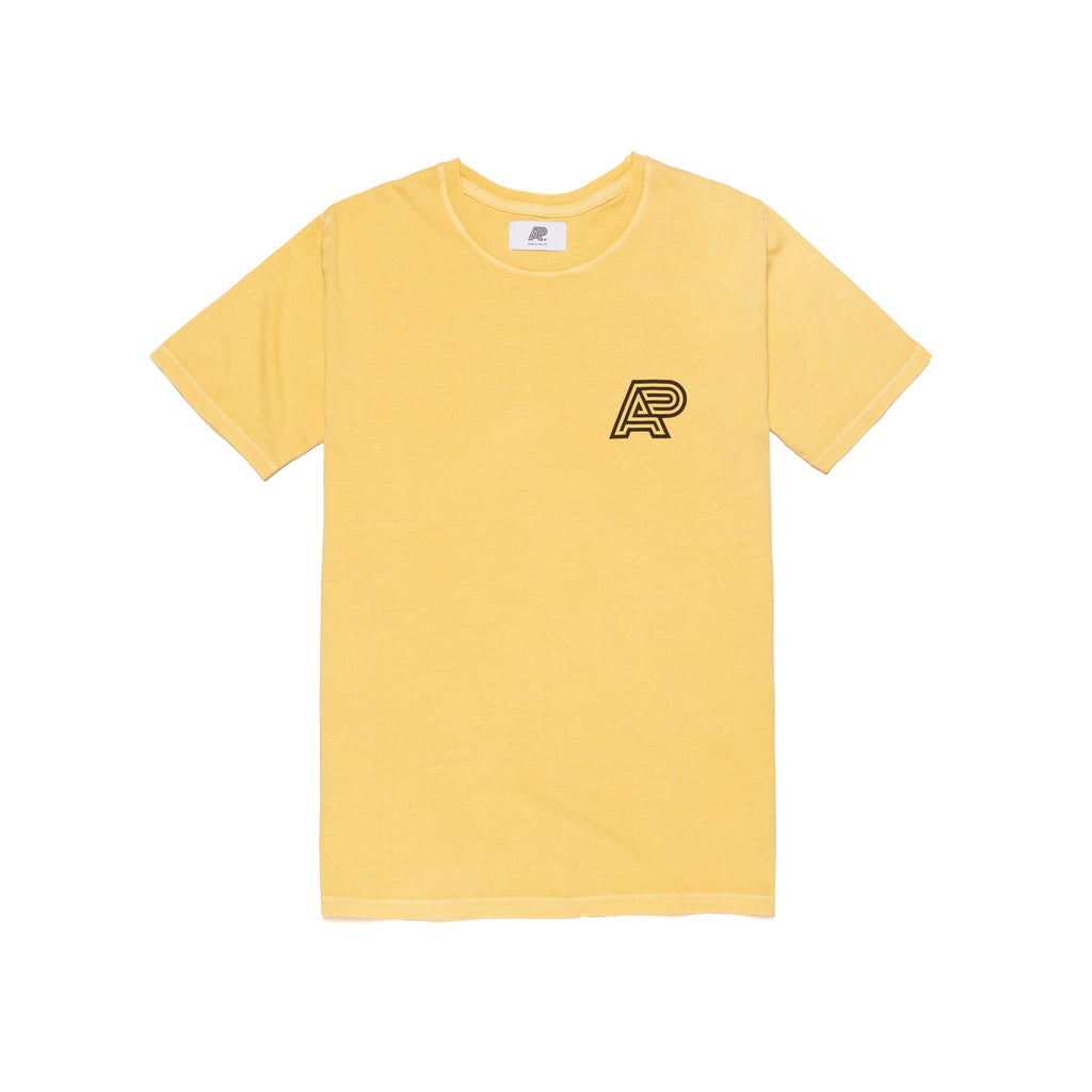 A&P YELLOW PIGMENT DYED TEE