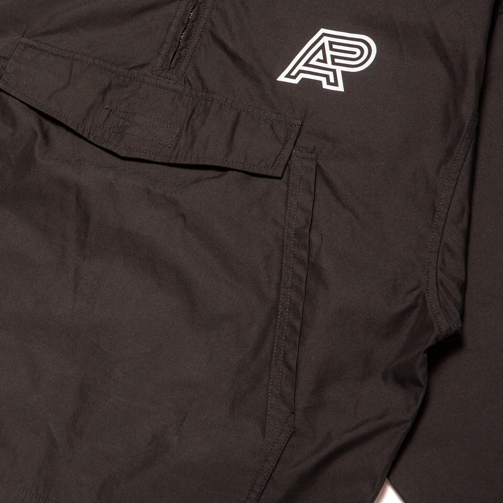 VINTAGE ANORAK JACKET (BLACK)