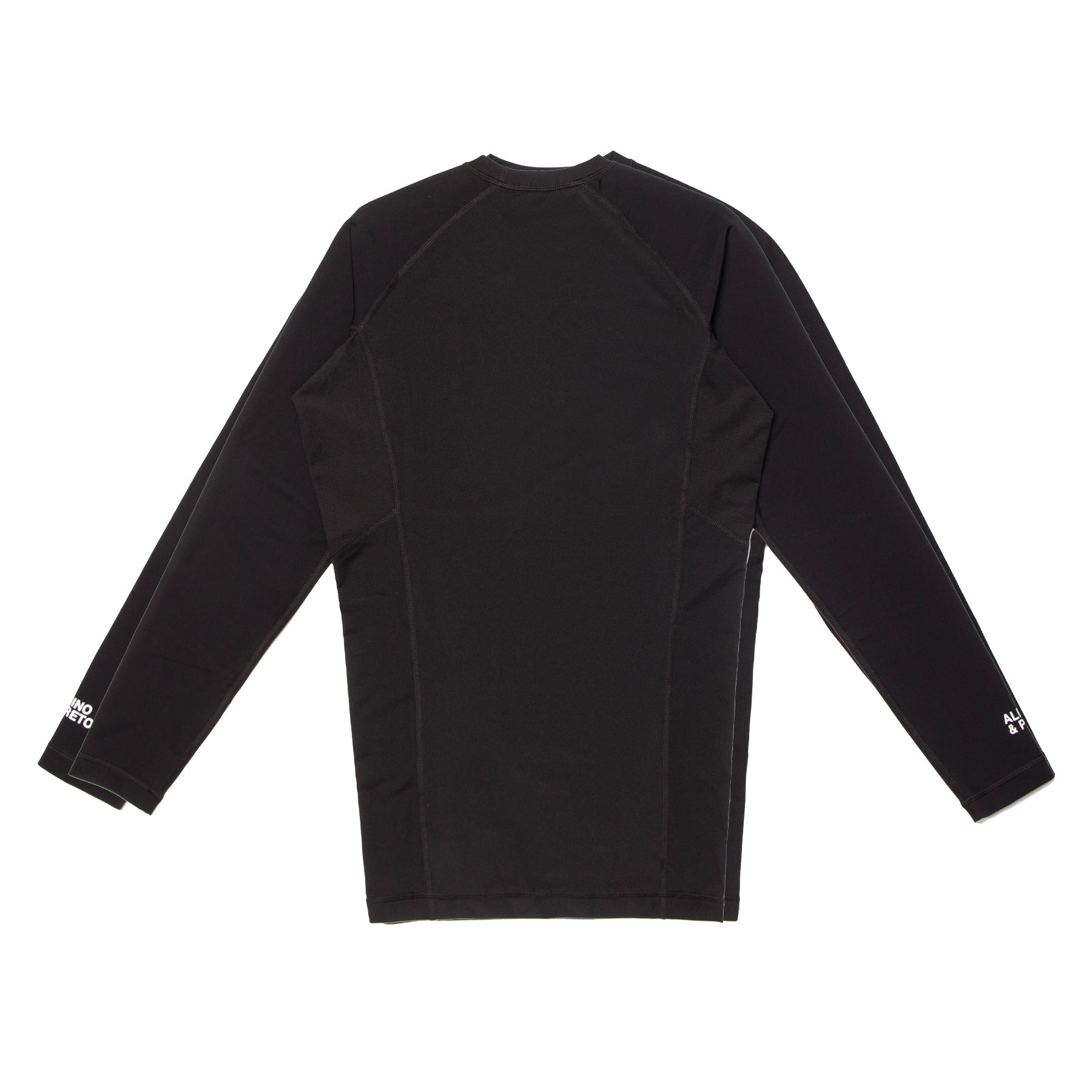A&P EVAP LS RASH GUARD (BLACK)