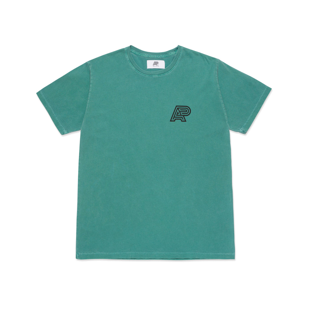 A&P PIGMENT DYED MARK TEE TEAL