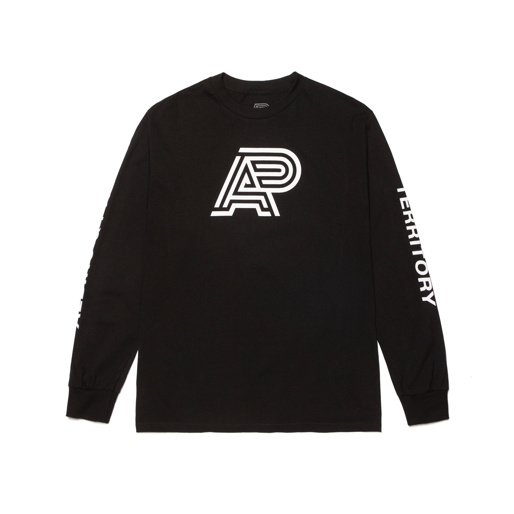 W-AP LS TEE BLACK (FULFILLMENT)