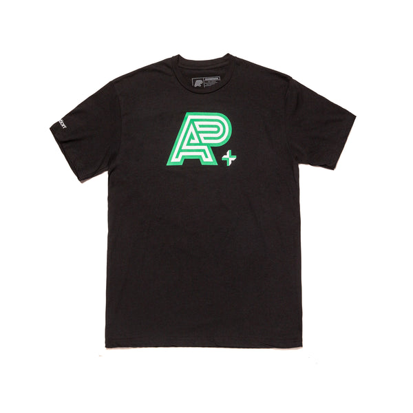 A&P IN4MATION MARK TEE (BLACK)