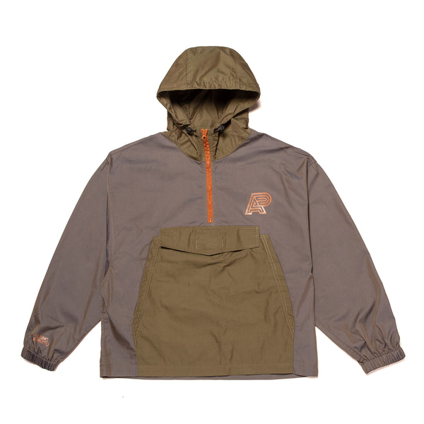 VINTAGE ANORAK JACKET (IRIDESCENT GREY)