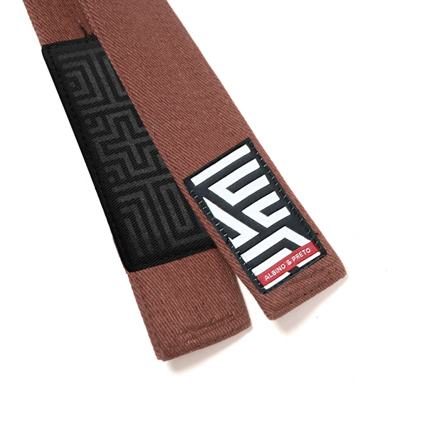 A&P CLASSIC HERRINGBONE BELT (BROWN)