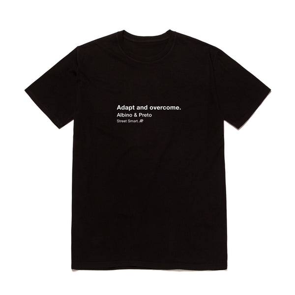 A&P ADAPT & OVERCOME TEE BLACK