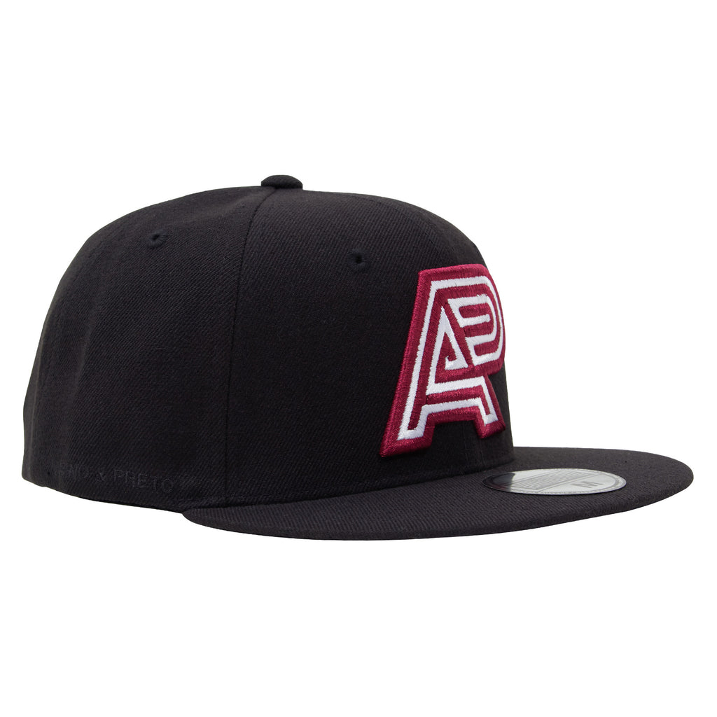 A&P CLASSIC LOGO HAT BURGUNDY-WHITE (HOUSE)