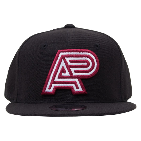 A&P CLASSIC LOGO HAT BURGUNDY-WHITE