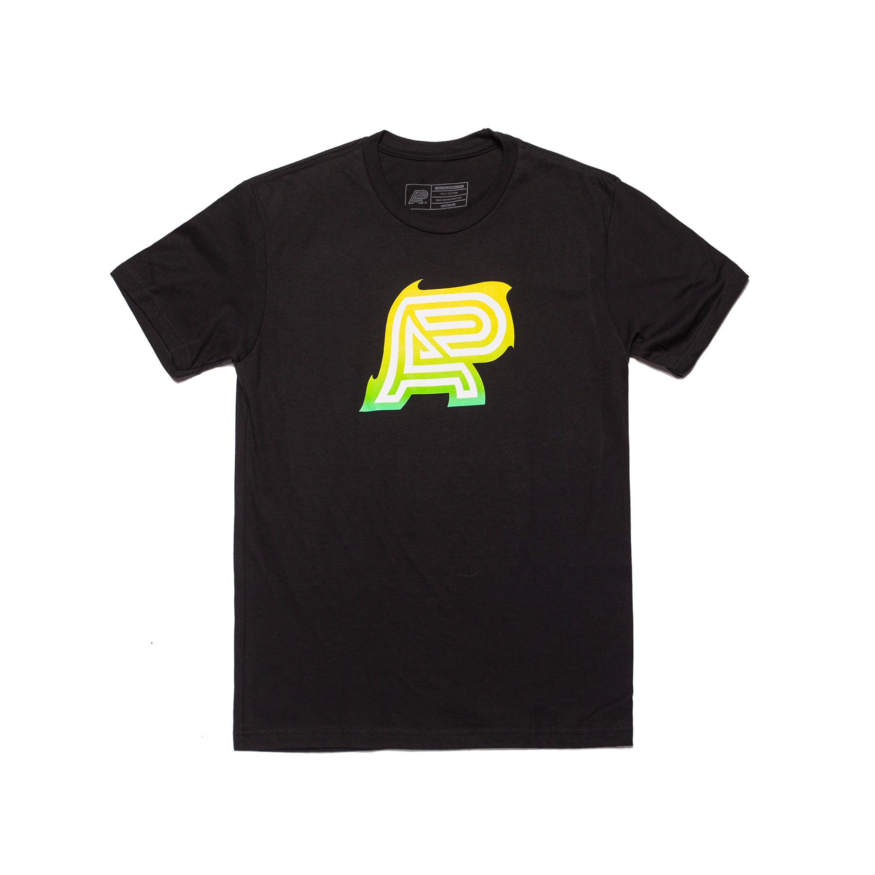 HEAT WAVE MARK TEE (BLACK)