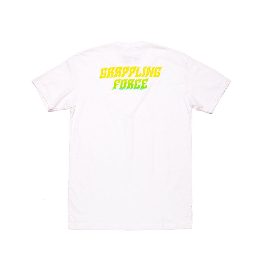 HEAT WAVE MARK TEE (WHITE)