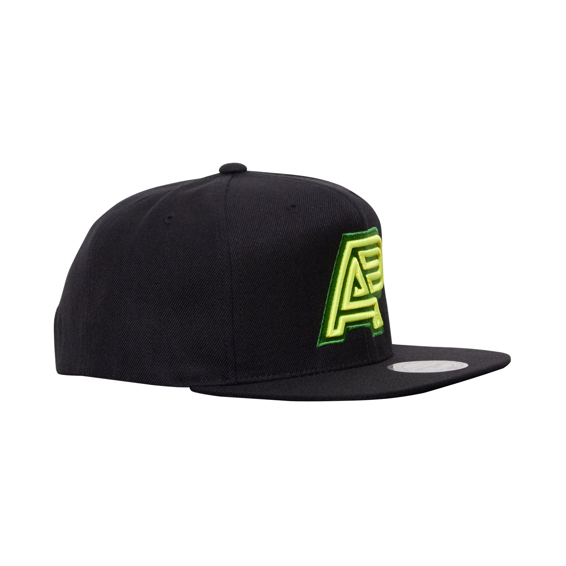 A&P X MITCHELL & NESS SNAPBACK (YELLOW/GREEN)