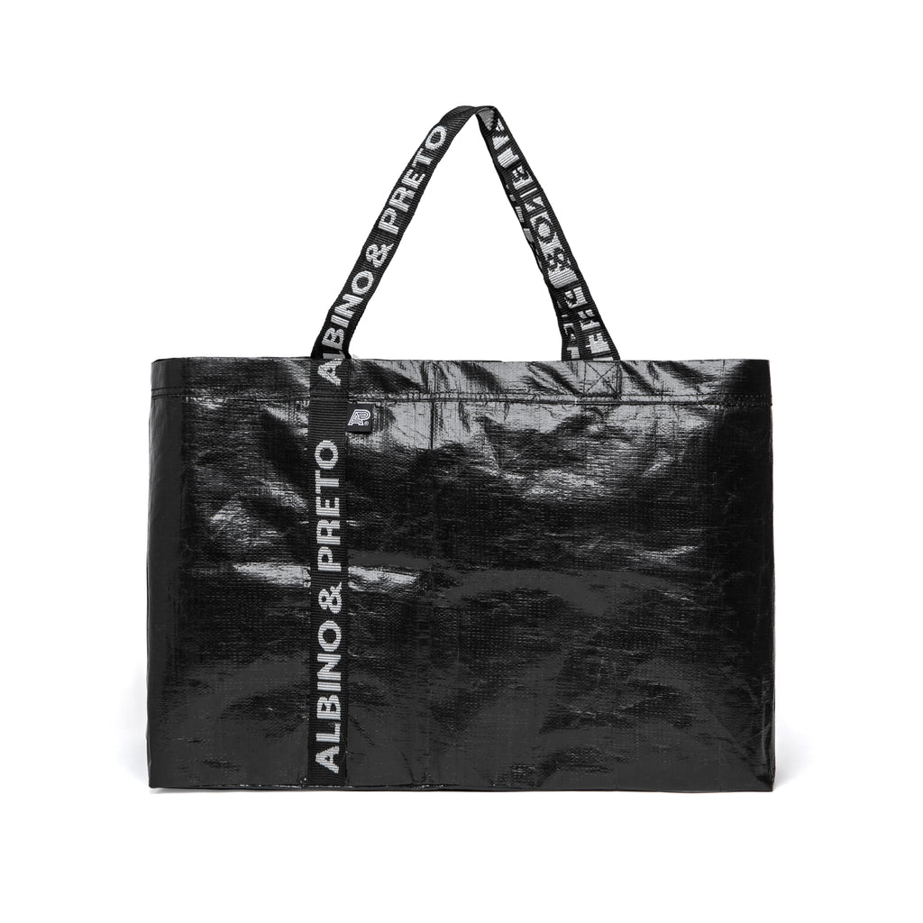 A&P POLY TOTE BAG BLACK (FULFILLMENT)