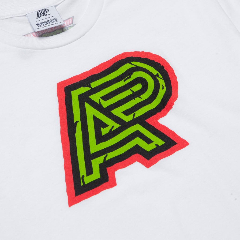 A&P TMNT MARK TEE WHITE