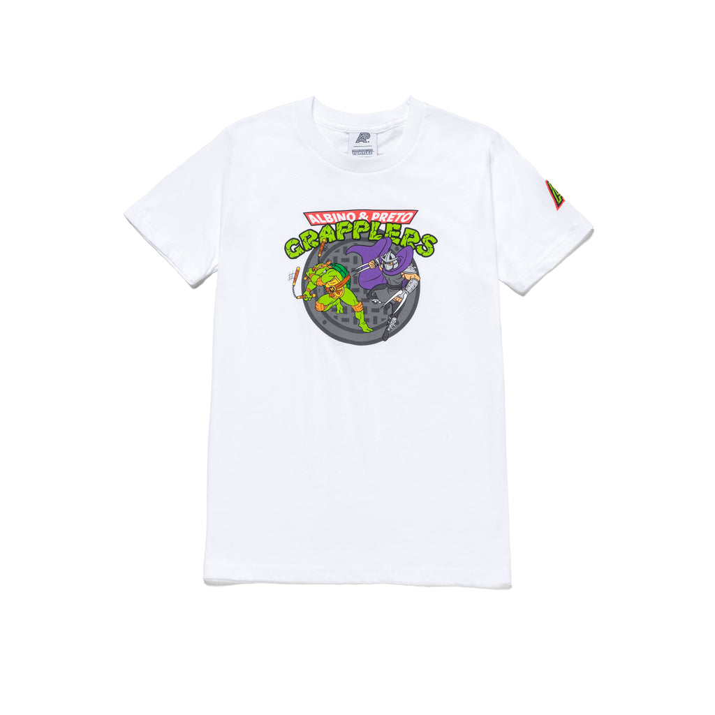 A&P TMNT GRAPPLERS KIDS TEE WHITE