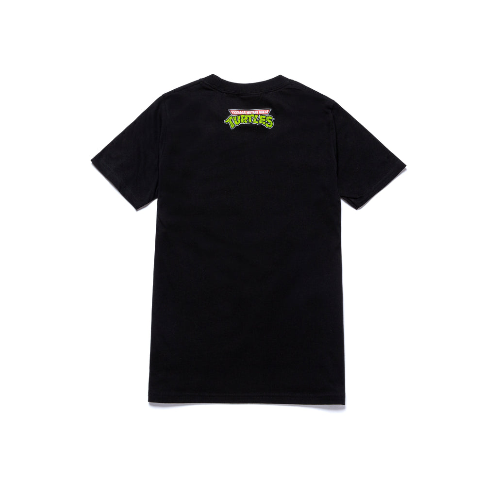 A&P TMNT MARK KIDS TEE BLACK