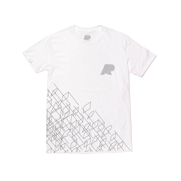 A&P WIREFRAME TEE WHITE