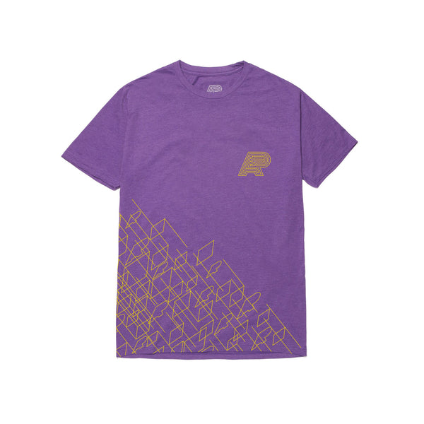 A&P WIREFRAME TEE PURPLE