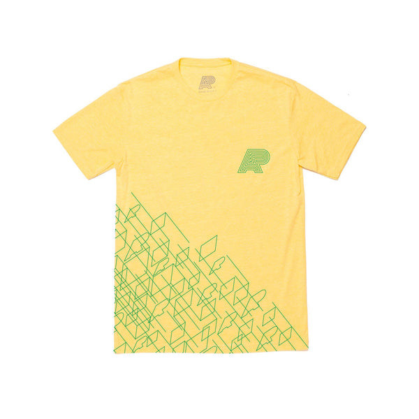 A&P WIREFRAME TEE YELLOW