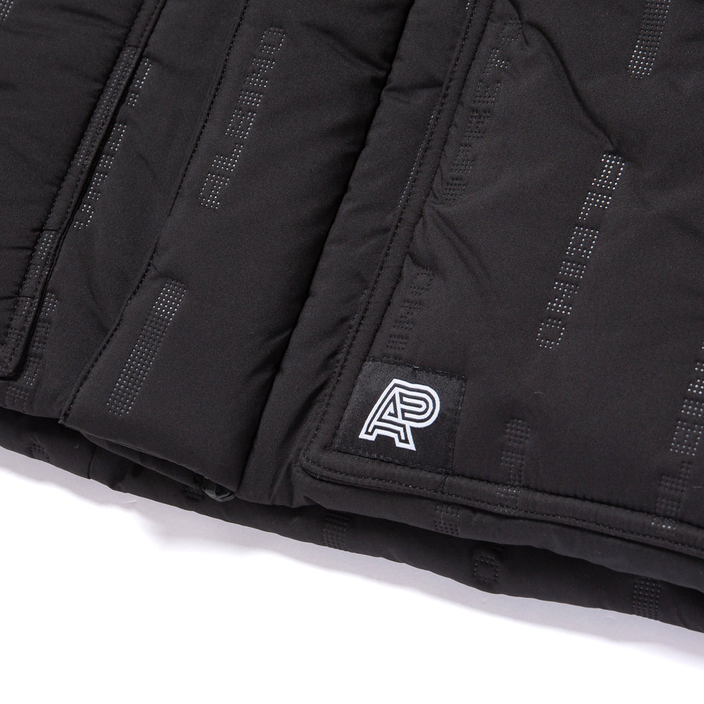 A&P PUFF JACKET BLACK