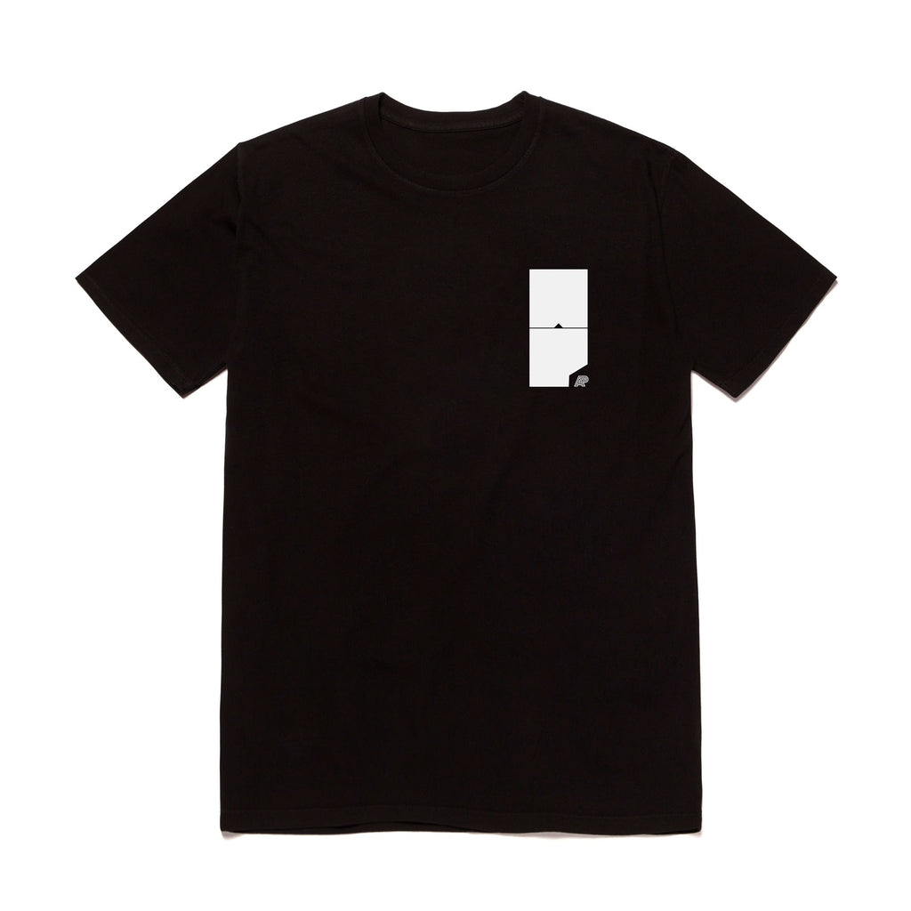 A&P BLOCK MARK TEE BLACK