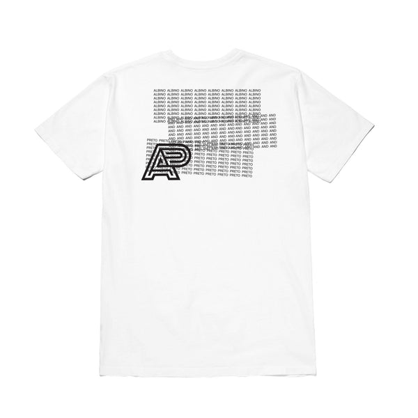 A&P OVERLAP TEE WHITE