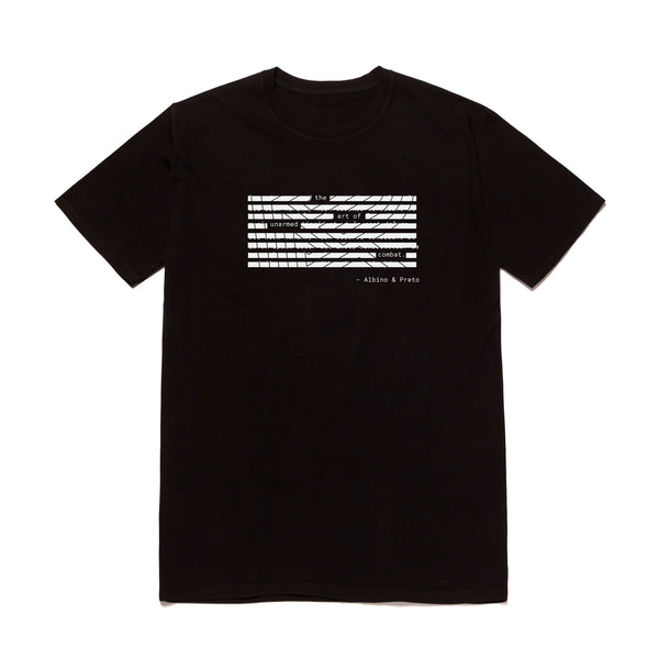 A&P REDACTED TEE BLACK