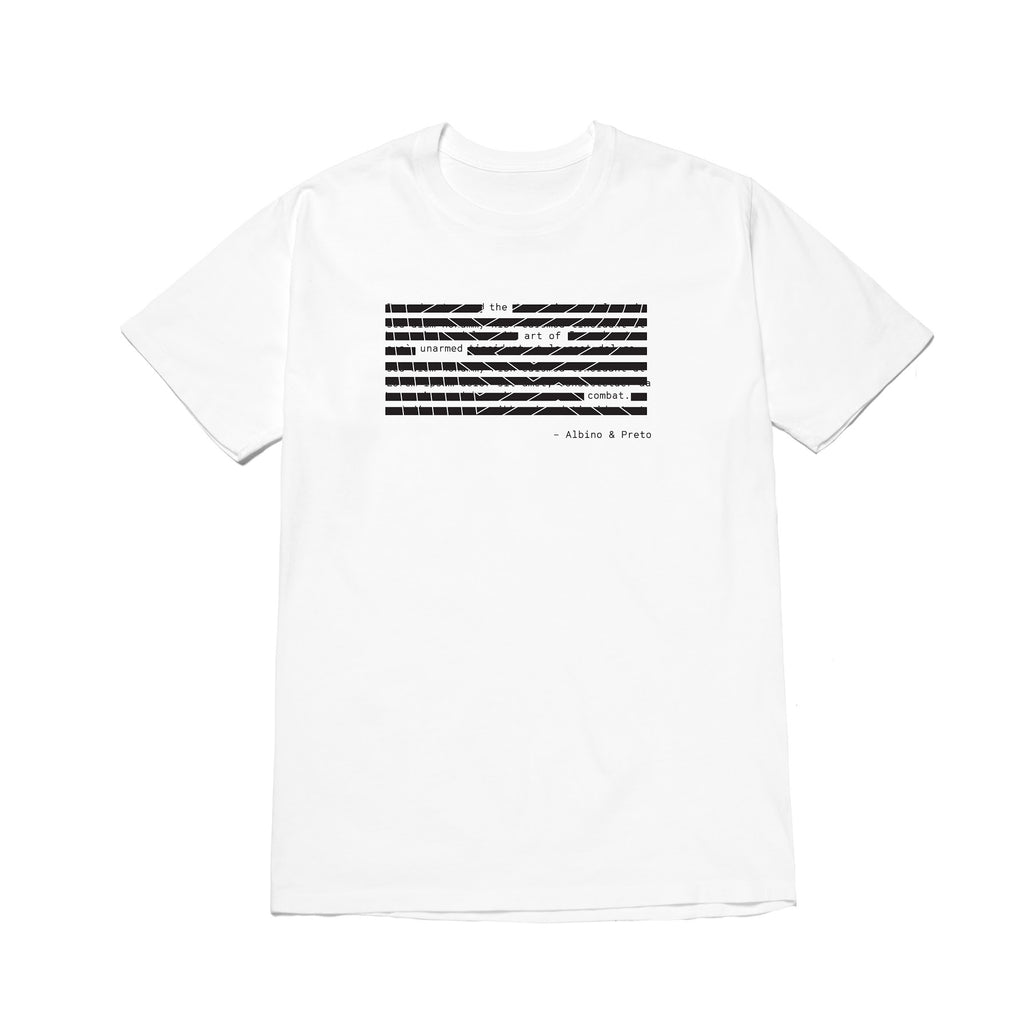 A&P REDACTED TEE WHITE
