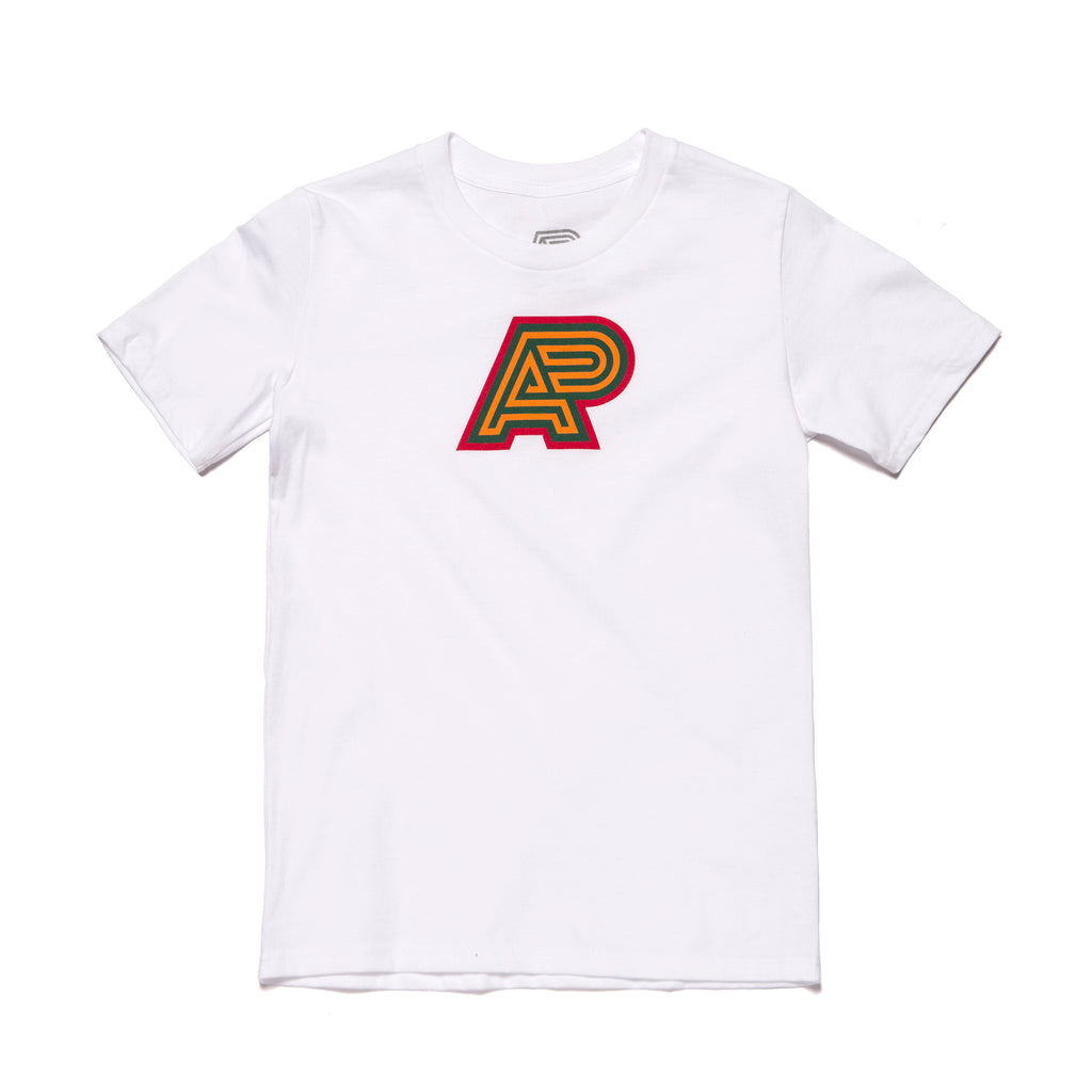 A&P OGB MARK TEE YOUTH WHITE
