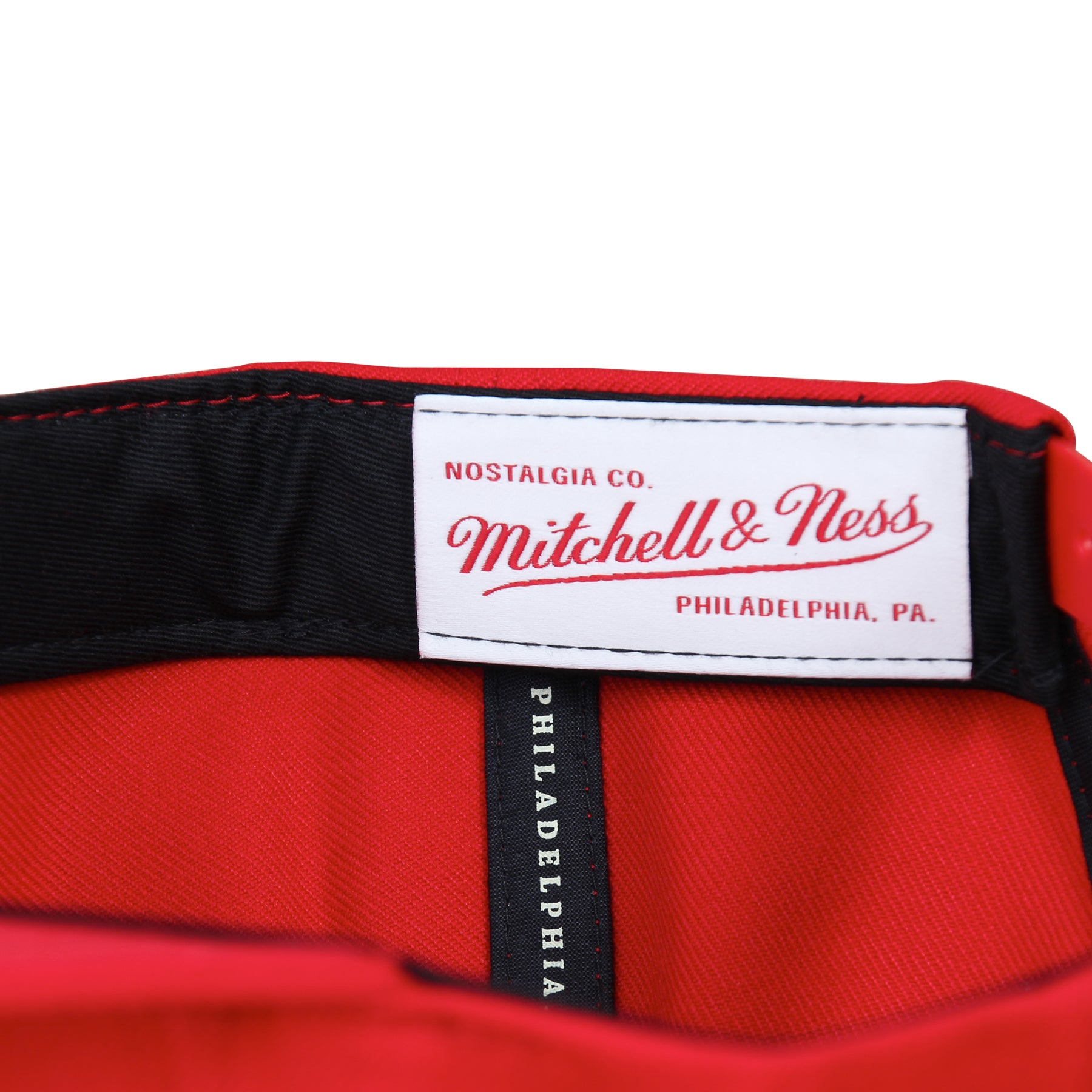 A&P X MITCHELL & NESS SNAPBACK (RED)