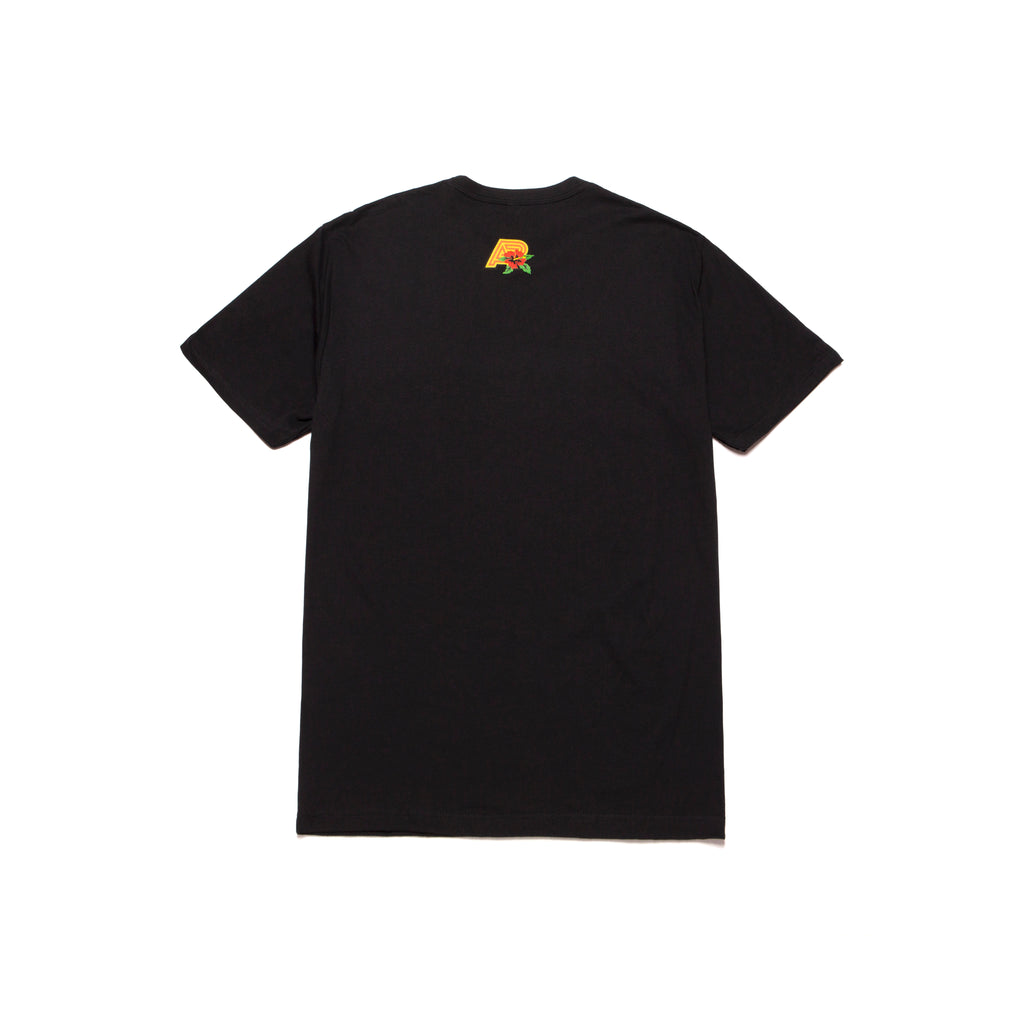 A&P LOCALS SUNSET TEE BLACK