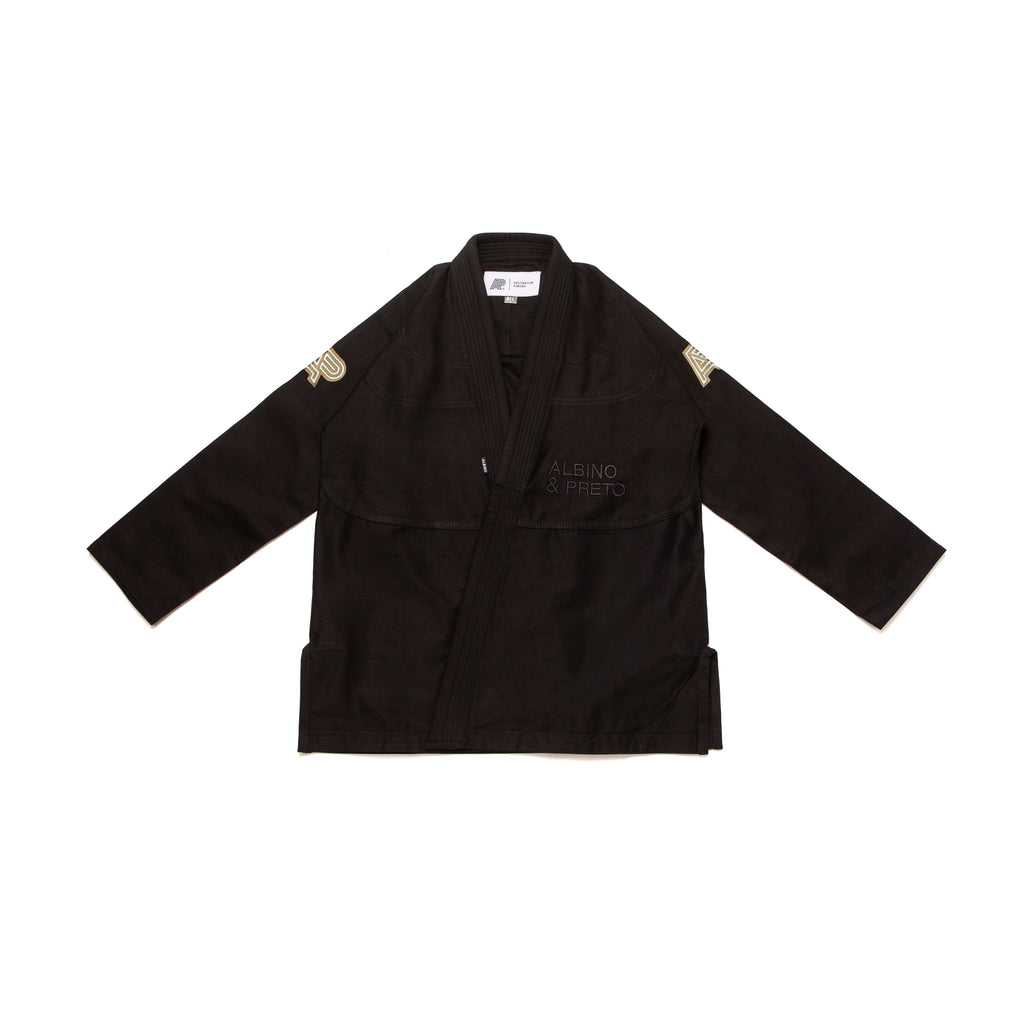 A&P B88 DESTINATION KIMONO BLACK (FULFILLMENT)