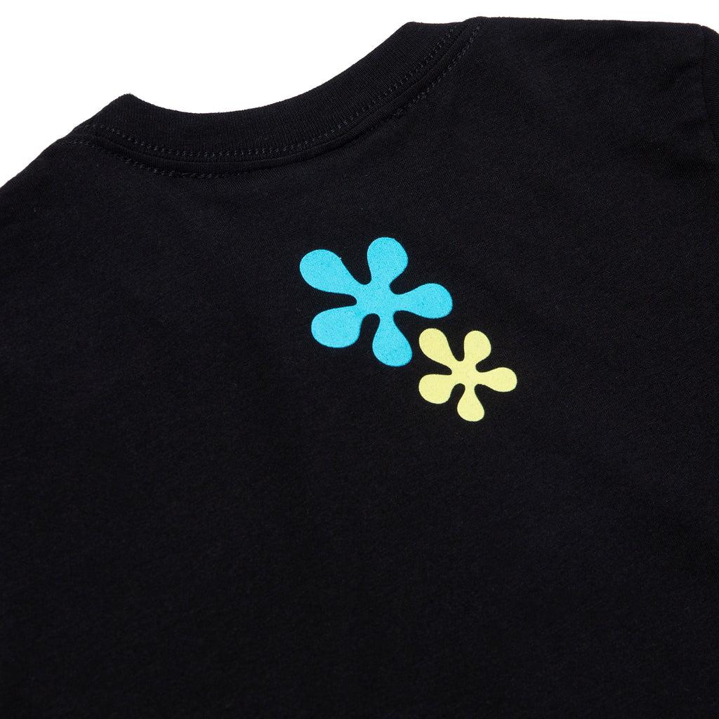 A&P SB BUBBLE MARK KIDS TEE BLACK