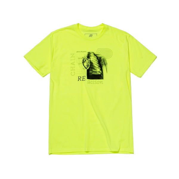 A&P REACTION TEE FLUORESCENT YELLOW