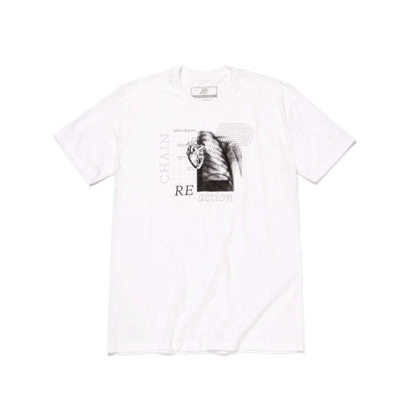 A&P REACTION TEE WHITE