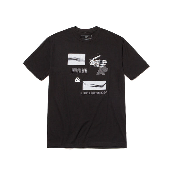 A&P REPERCUSSION TEE BLACK