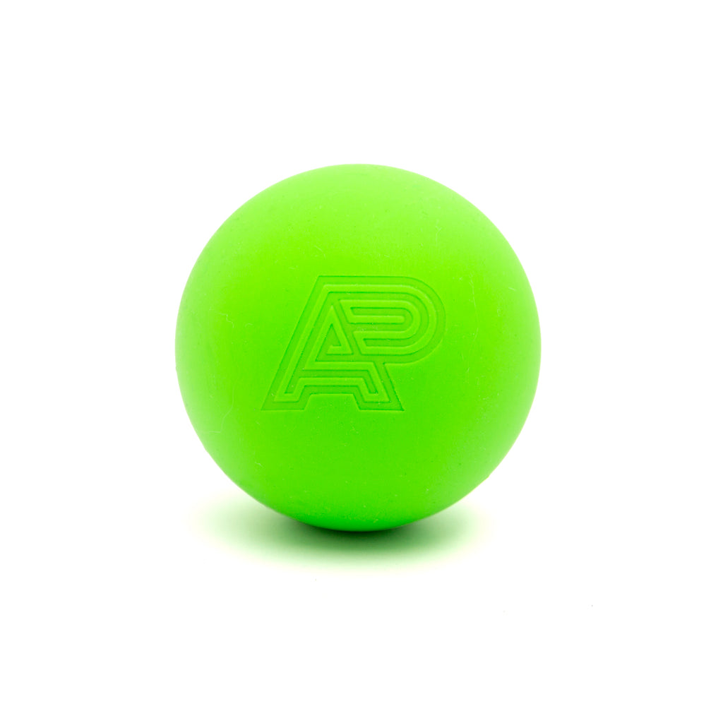 A&P MASSAGE/LACROSSE BALL NEON GREEN